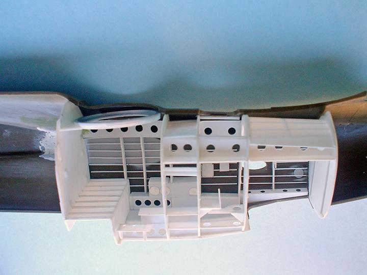 Ruben Torres' A-20 PYN-up Interior Assembled