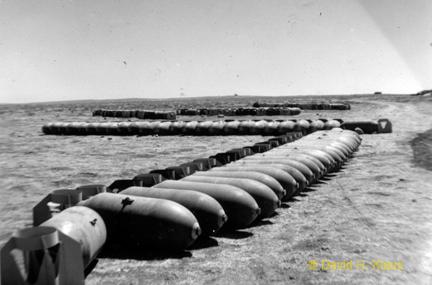 Ploesti Mission bomb dump