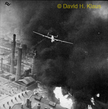Ploesti Film B-24 Attack Photo
