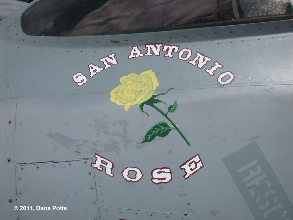 F-14B San Antonio Rose Artwork Closeup