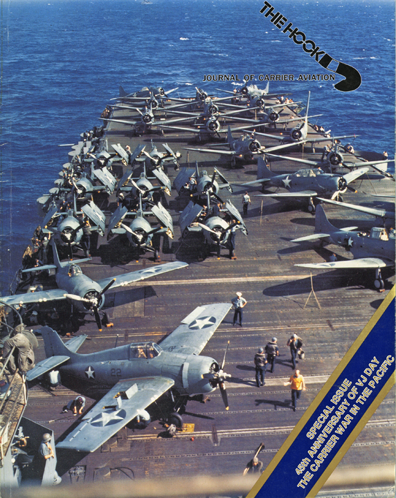 F4Fs & SBDs On The Deck Of The USS Wasp Color
