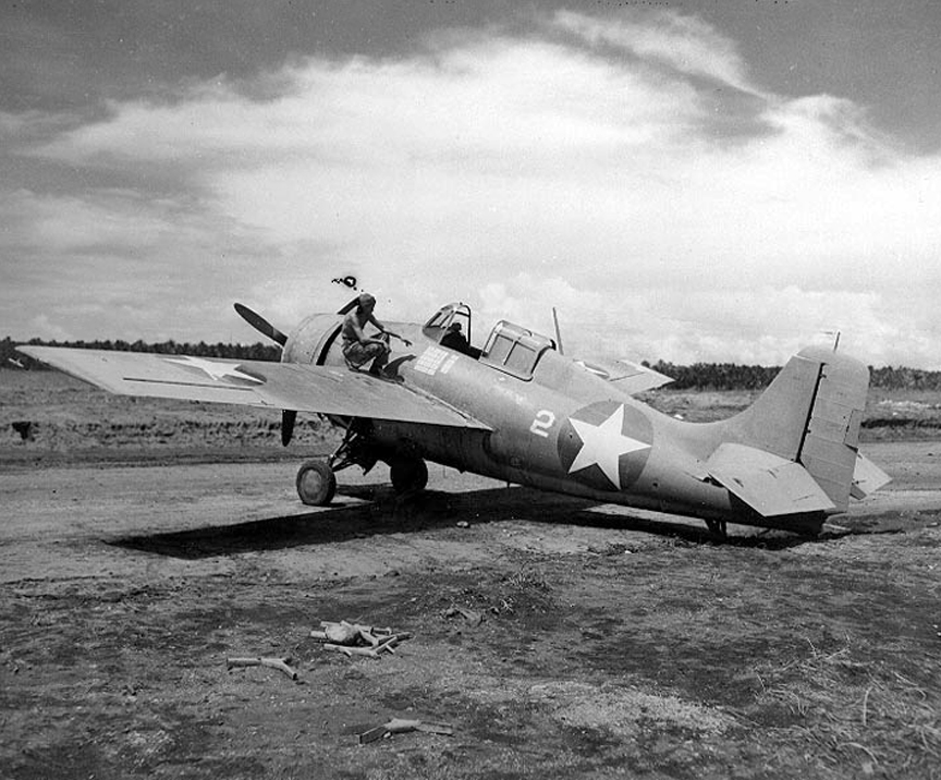 Ace Marion Carl's F4F On Guadalcanal