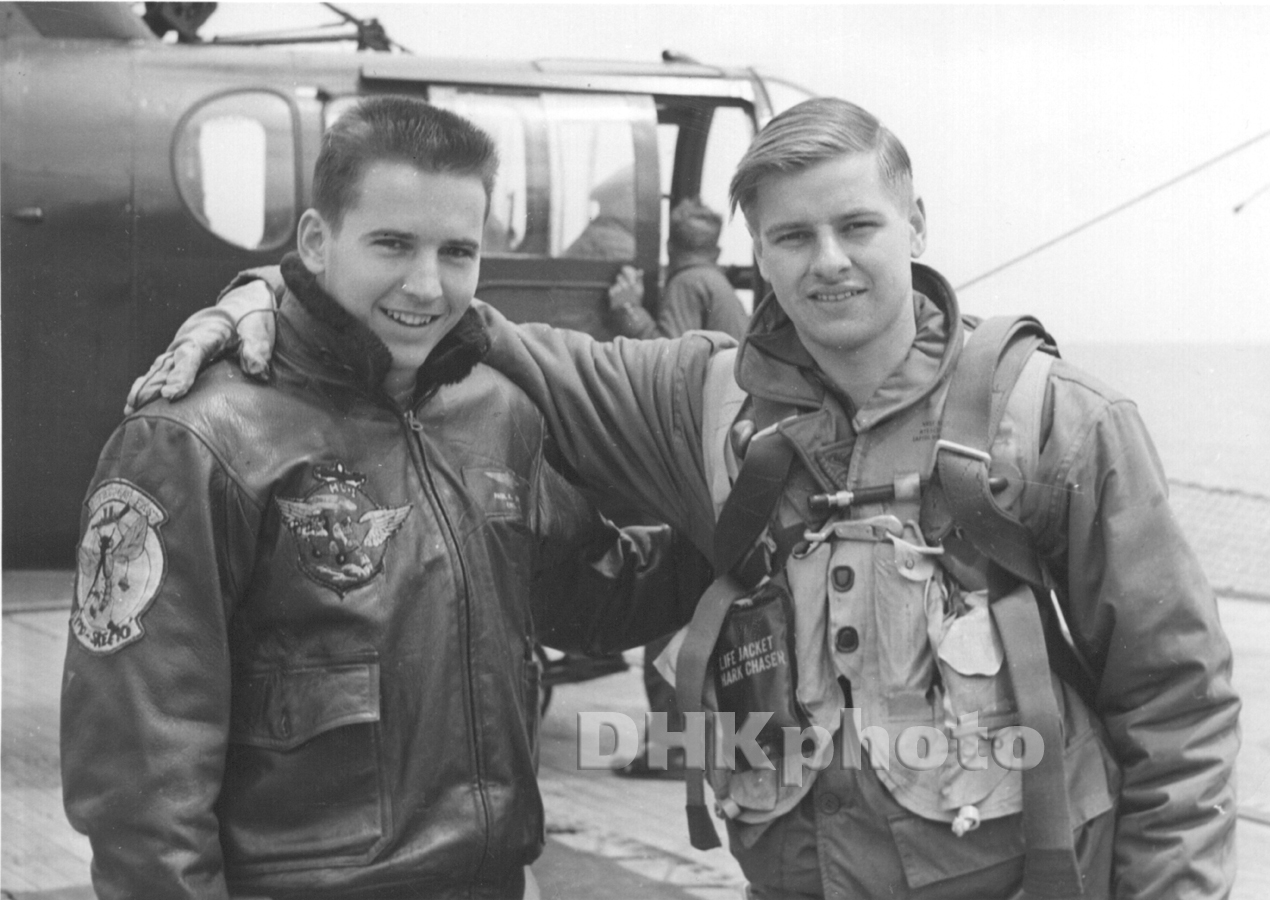 Gary Witters And Paul Johnson (Helicopter Pilot)