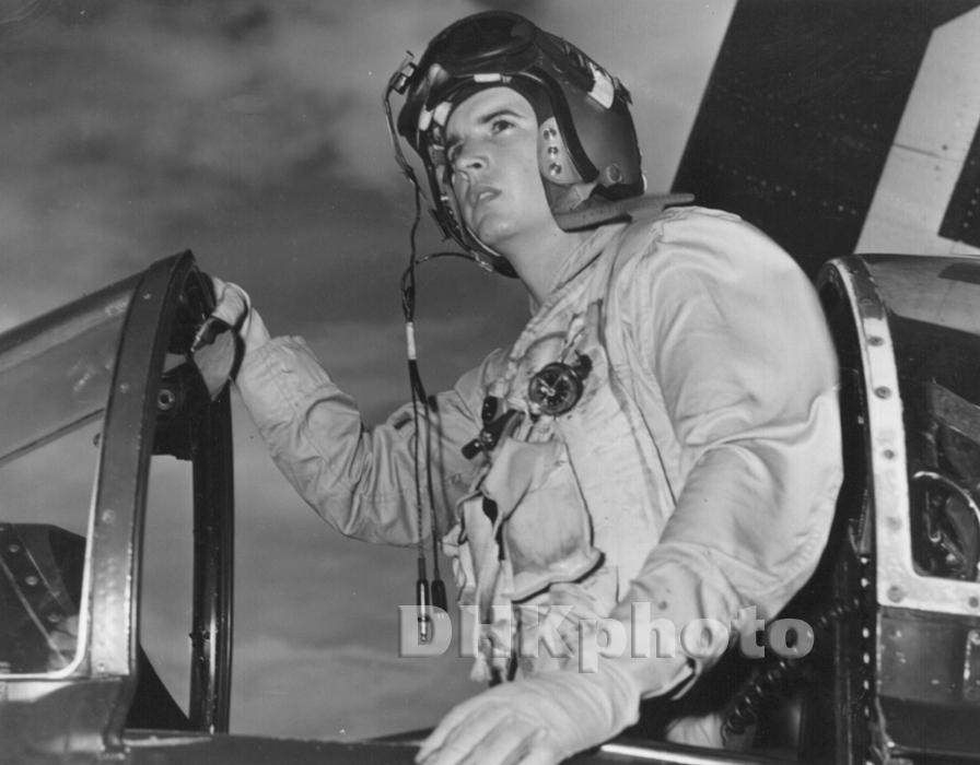 Gary M. Witters, Korea, 1953, AD-6 Pilot